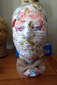 Shabby Chic head - Male